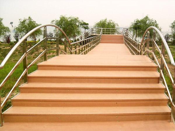 三台山5A级景区项目塑木地板案例