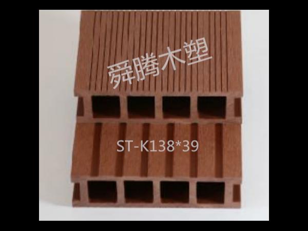 空心方孔木塑地板