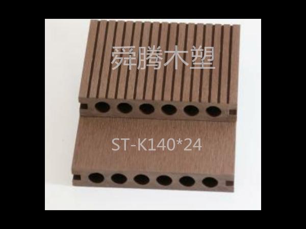 空心六孔木塑地板(3)