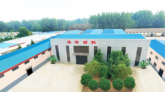 舜腾木塑厂房外景